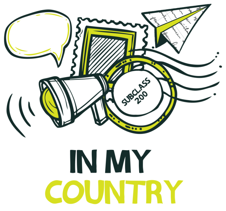 In My Country logo